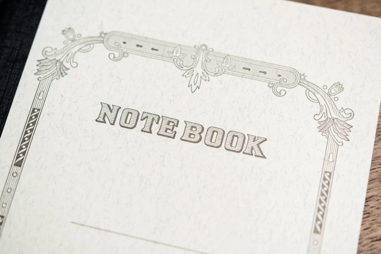 Tsubame Note Notebook detail