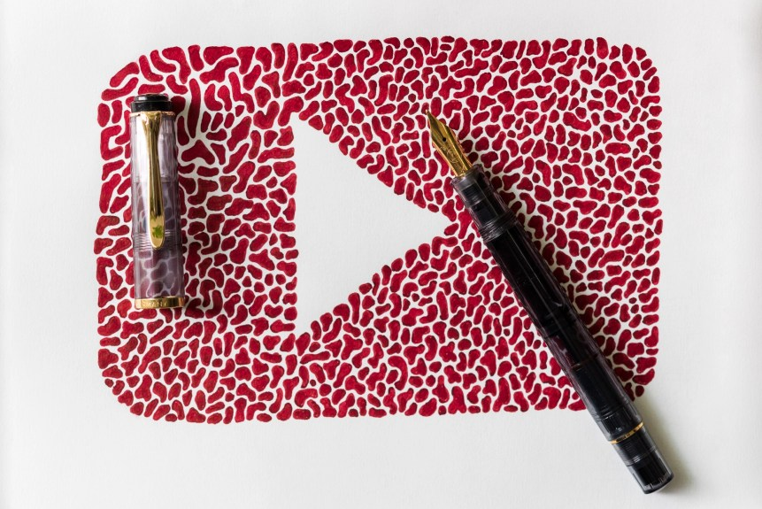fountain pen videos on youtube pelikan m200