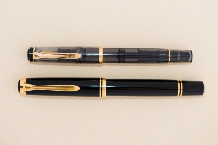 expensive versus inexpensive fountain pen difference pelikan m800