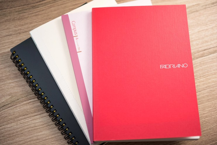fountain pen friendly notebook variety