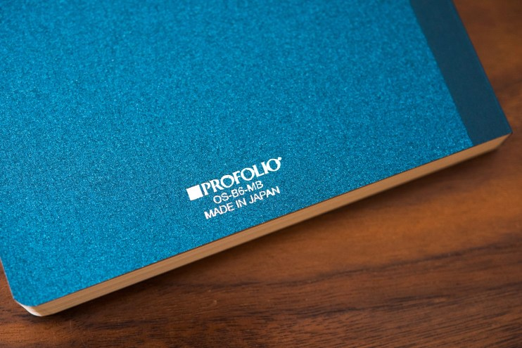 Profolio Oasis Summit Notebook Review back cover