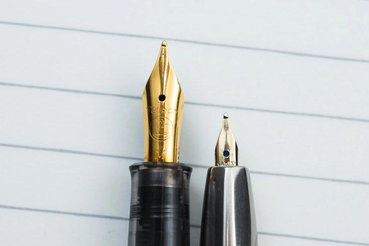 choosing a fountain pen nib for beginners gold vs steel