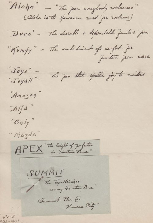 Handwritten Name ideas by Lotz & Schieble given to Kraker