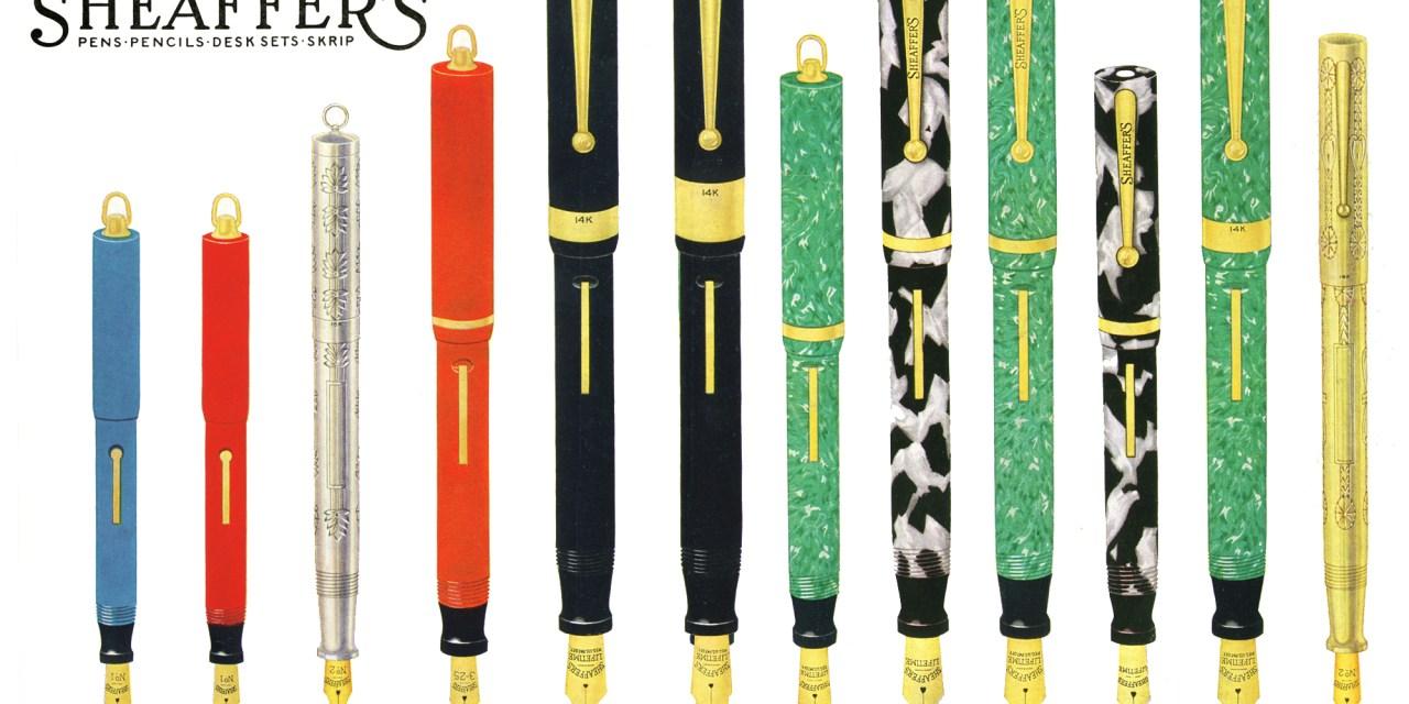 The Sheaffer Flat-Top Pen