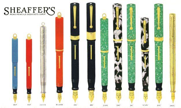 The Sheaffer Flat-Top Pen