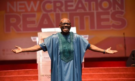 Pastor Taiwo Closes Word Explosion Conference with Powerful Message