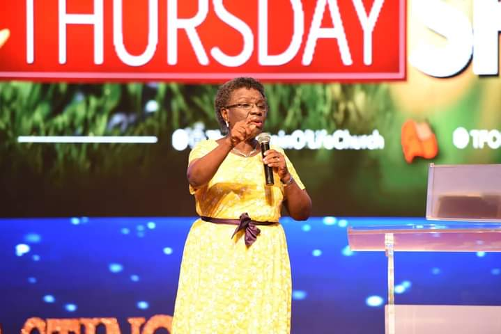 Pastor Mary Fayemi Encourages Showerians with Powerful Message on Change