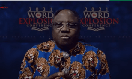 #WEC2021 Day 3: Rev George Adegboye Charges Believers to Shine as Light