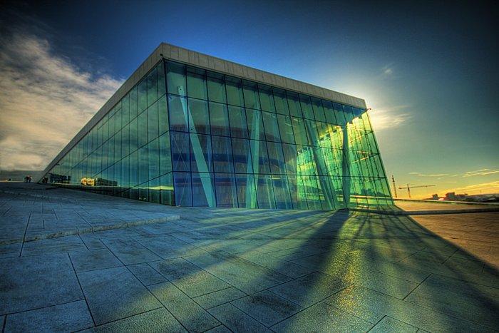 Modern Architecture  The Opera House in Oslo  Founterior