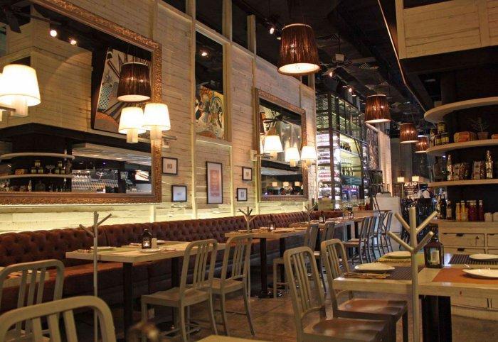 DeliRestaurant and Wine Shop Interior Design Project