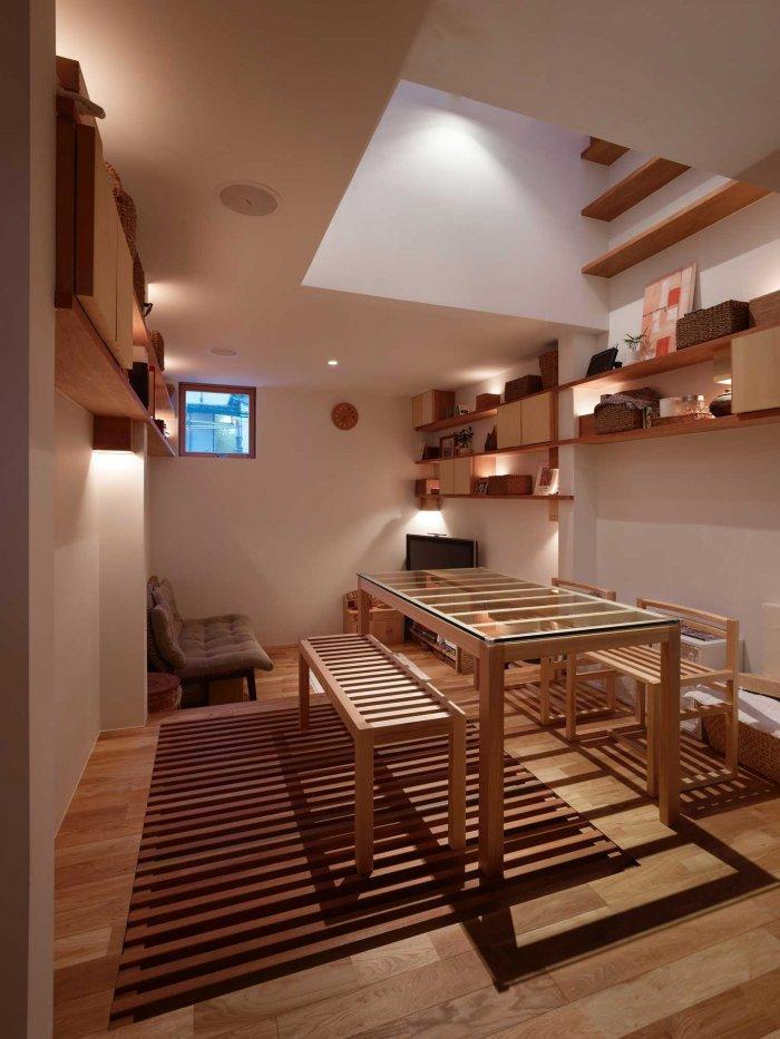 Japanese Minimalist Inside a Tiny House in Nada Japan  Founterior