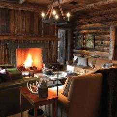 Best Way To Place Living Room Furniture Eclectic Decorating Ideas For Rooms Mountain Lodge Rustic Interior Design In Montana, Usa ...