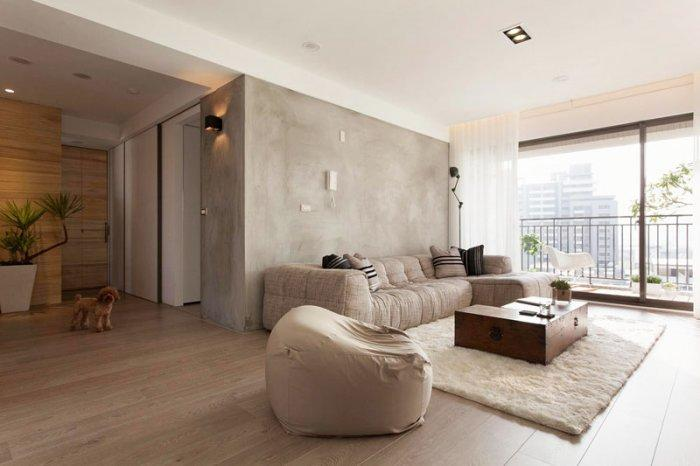 Japanese Minimalist Apartment Interior Design By Fertility