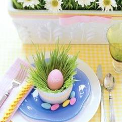Simple Decoration Of Small Living Room Ashley Furniture Rooms Unique, Fresh And Exciting Easter Table Ideas ...