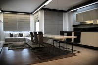 Futuristic Small Apartment Interior Design in Bulgaria ...