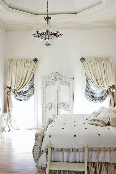 french bedroom curtains Romantic Room Interior Design Ideas with Images | Founterior
