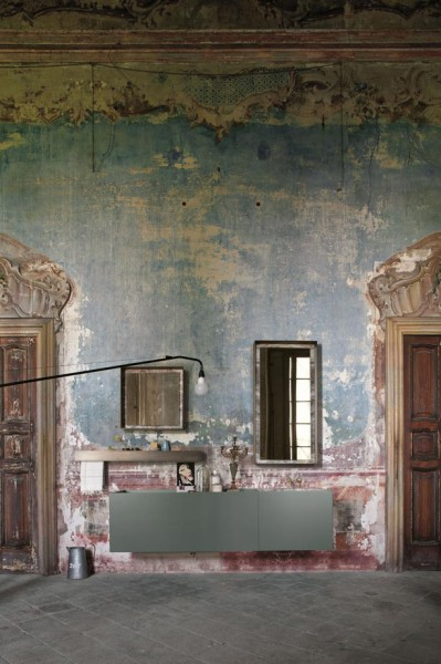 Eclectic Vintage and Shabby Chic by Altamarea Bathroom