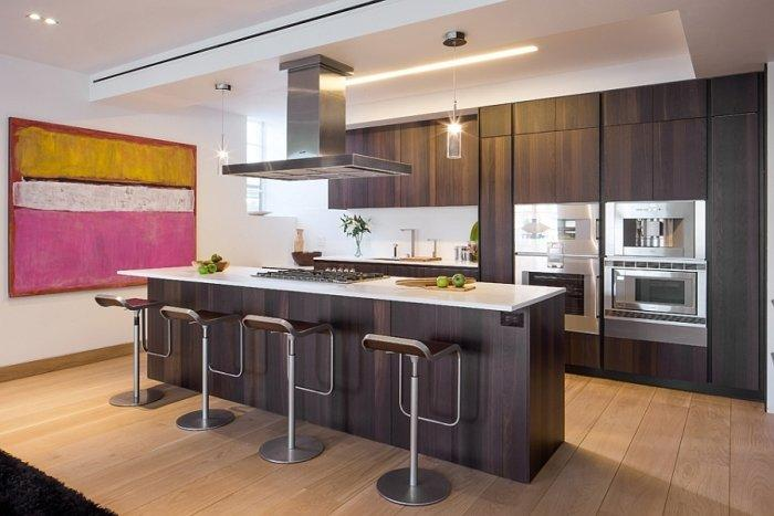 kitchen designers long island countertop choices contemporary and stylish new york penthouse interior ...