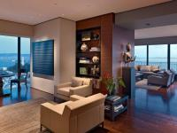 Luxurious High-Rise Interior with Skyline View | Founterior