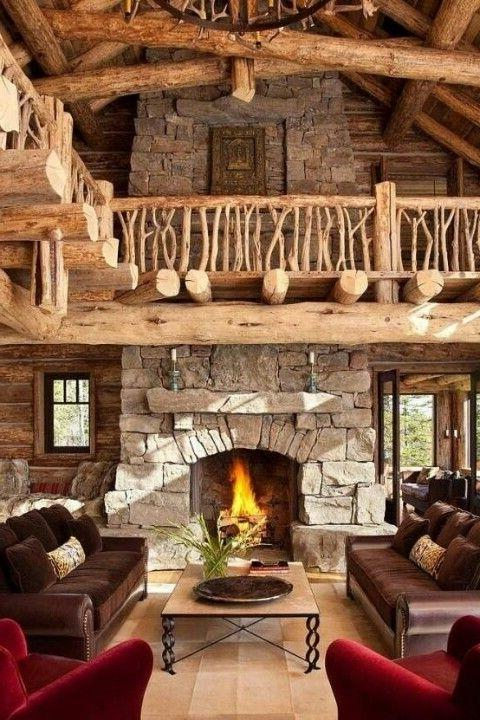 traditional pictures for living room how to design long narrow impressive rustic cabin and cottage interior designs ...