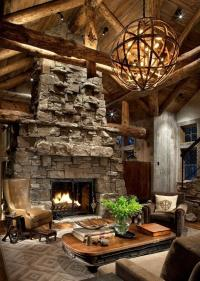 Impressive Rustic Cabin and Cottage Interior Designs ...