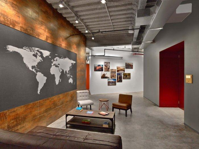 Modern Office Interior Design  Though Mudders HQ
