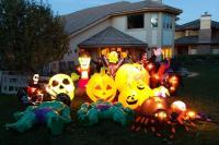 Halloween Inflatables for Indoor and Outdoor Use