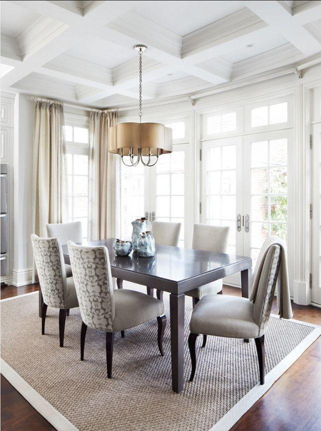 It's important to choose a table that fits the size of your room so there's room for everyone to w. Dining Room Interior Design Ideas for Your Home   Founterior