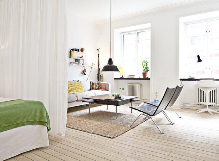 Modern Small Apartment And Studio Design Ideas  Founterior