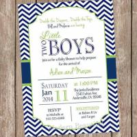 Baby Shower Ideas for Twins   Founterior