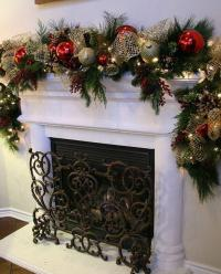 Christmas Garlands for Stairs, Fireplaces and Lights ...