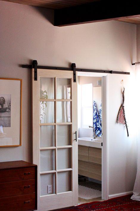 Hallway Doors  Black Glass and Sliding Examples  Founterior