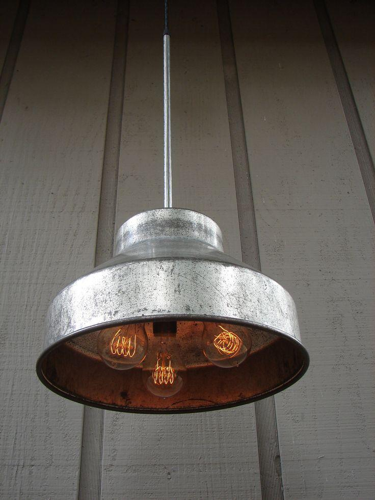 Inspiring Industrial Touches With Raw Light Fixtures