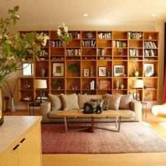How To Decorate A Living Room With Dark Brown Couch Chinese Bookcase Design Ideas For Modern Home   Founterior