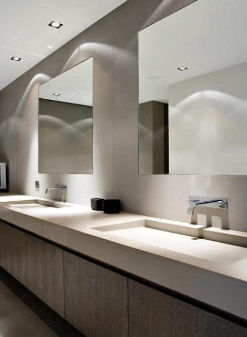 Beautiful Ideas for Solid Countertops Surfaces   Founterior