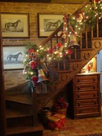 Christmas Garlands for Stairs, Fireplaces and Lights