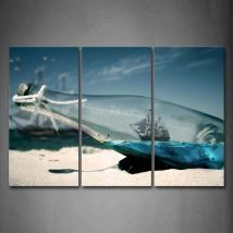 Abstract Metal Glass Art Intriguing Walls