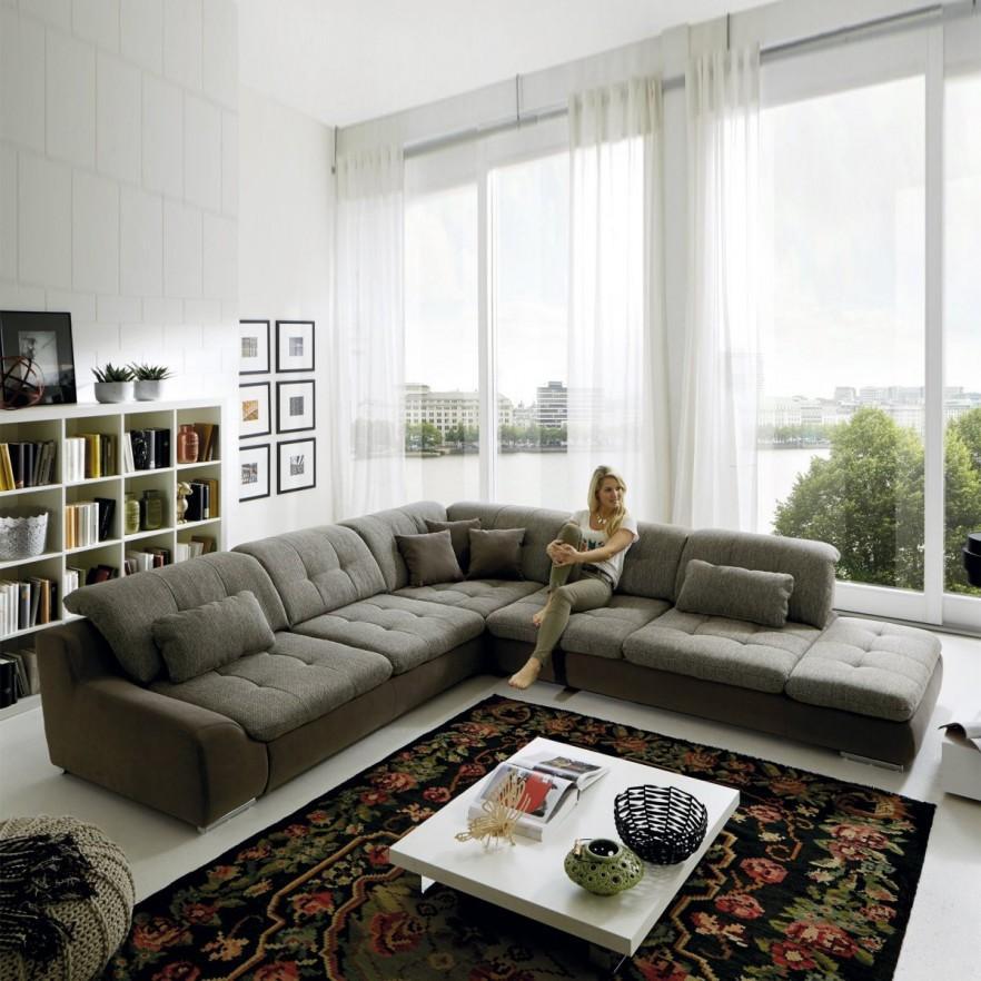 Contemporary Living Room Ideas with Sofas   Founterior