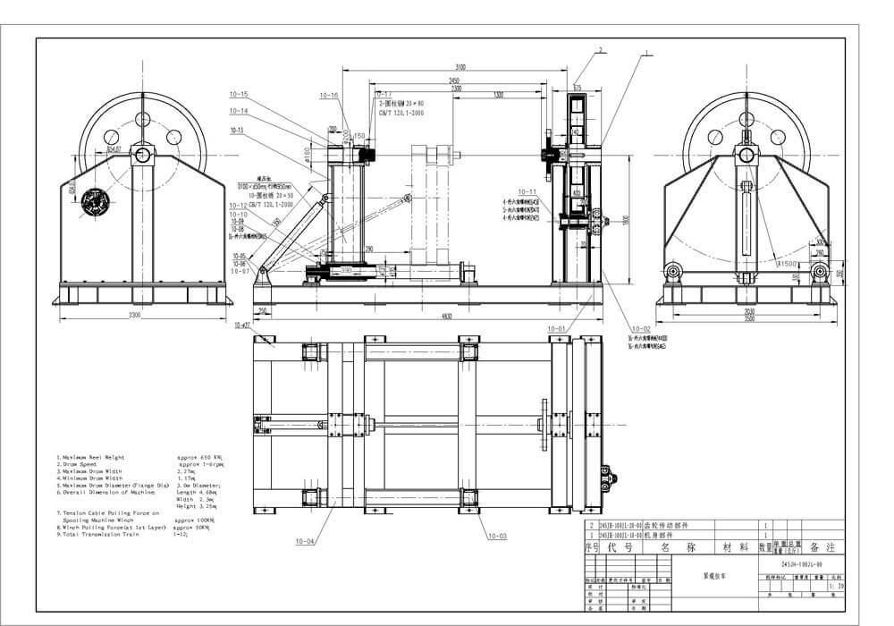 Optimized Marine Rope Spooling Machine Manufacturer