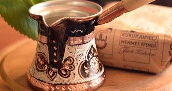 Турка, привезенная из Стамбула. На одну чашку кофе по-турецки.
