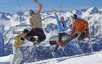 Горнолыжные курорты Австрии Austria ski resorts