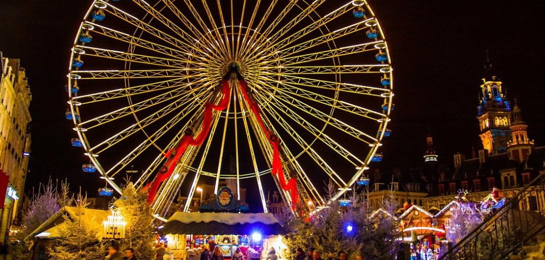 Рождественская ярмарка в Лилле
