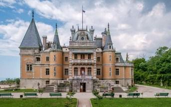 Массандровский дворец, Крым (Massandra Palace, Crimea)