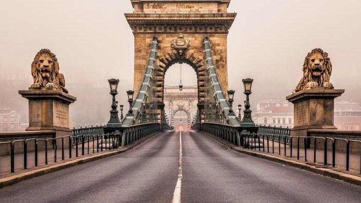 Поездка в Венгрию: мосты Будапешта осенью