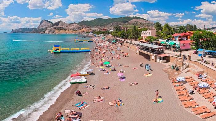 Пляж Малибу (Судак, Крым)