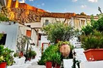 Анафиотика, Афины - отели, как добраться