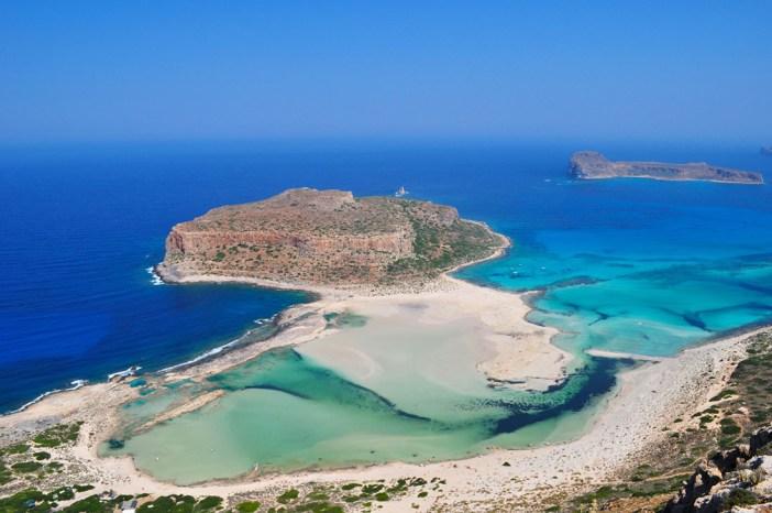 Интересные места Крита: лагуна Балос