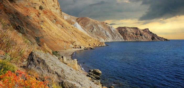 Мертвая бухта в Коктебеле, Крым (ФОТО)