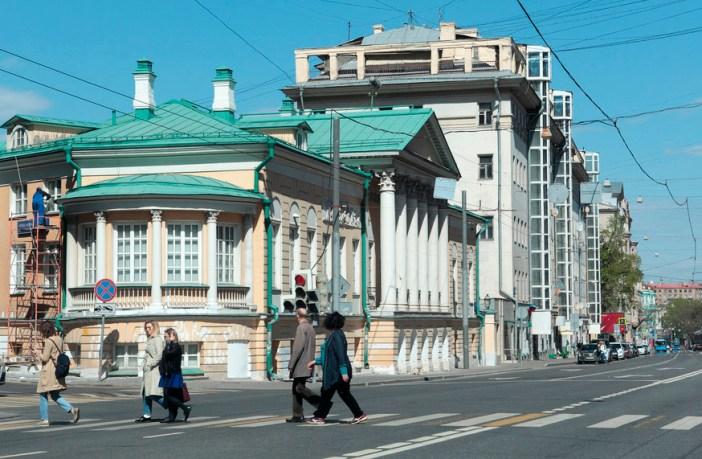Улица Старая Басманная, Москва