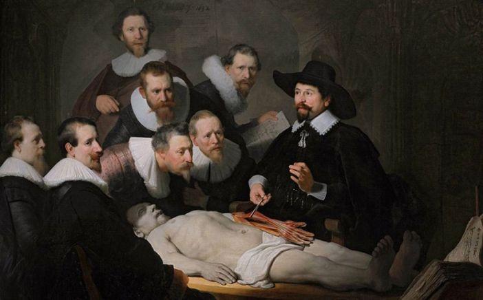 «Урок анатомии доктора Тульпа», Рембрант